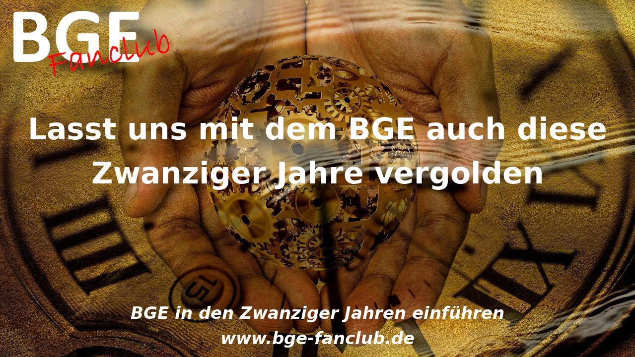BGE in den Zwanziger Jahren einführen