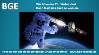 Astronaut Space - Bild größer - Download oder Link kopieren