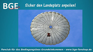 Fallschirm Landeplatz - Bild größer - Download oder Link kopieren
