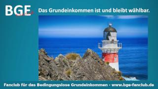 Grundeinkommen Leuchtturm - Bild größer - Download oder Link kopieren