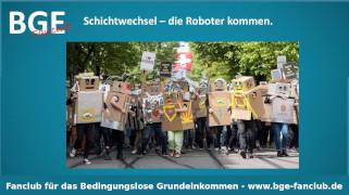 Schichtwechsel Roboter - Bild größer - Download oder Link kopieren
